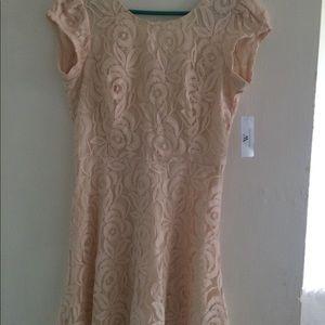 Ivory Worthington Revel style dress.